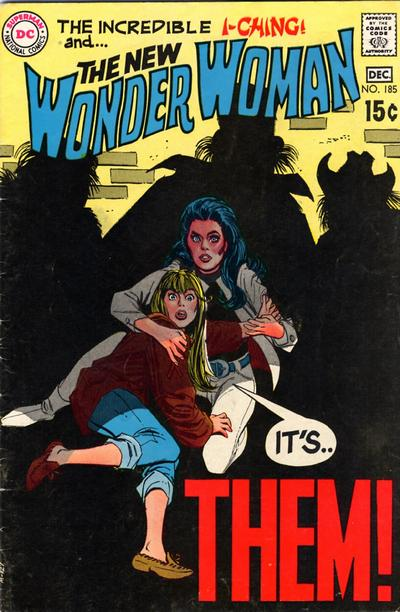 Cover for Wonder Woman (DC, 1942 series) #185
