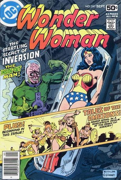 Cover for Wonder Woman (DC, 1942 series) #247