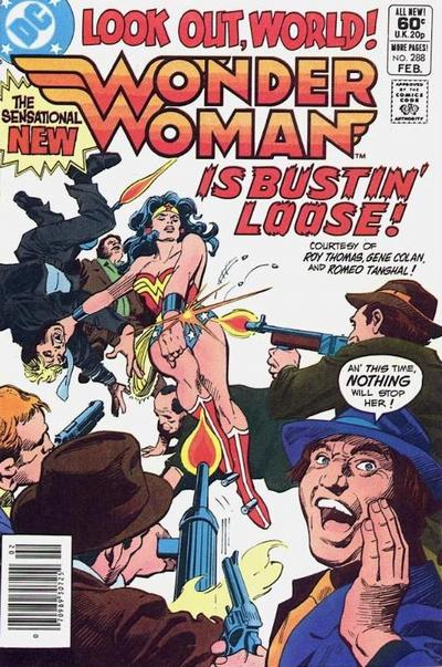 Cover for Wonder Woman (1942 series) #288