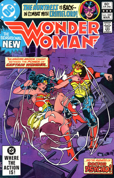 Cover for Wonder Woman (DC, 1942 series) #289