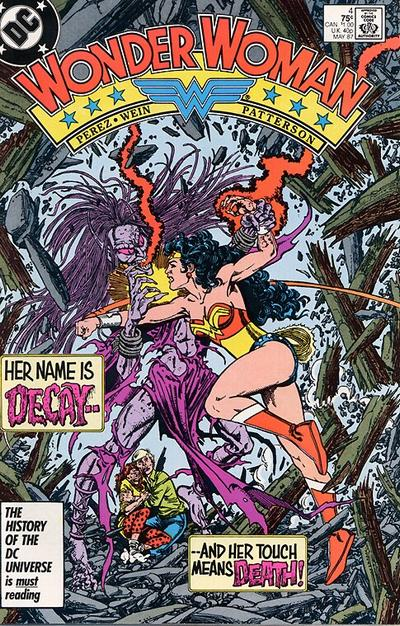 Cover for Wonder Woman (DC, 1987 series) #4