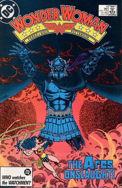Cover for Wonder Woman (1987 series) #6 [newsstand]