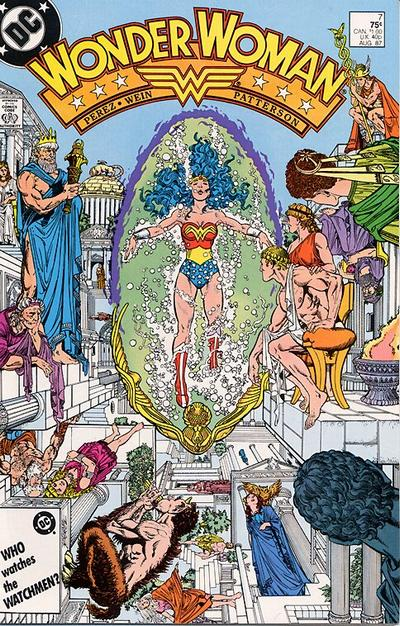 Cover for Wonder Woman (1987 series) #7 [newsstand]