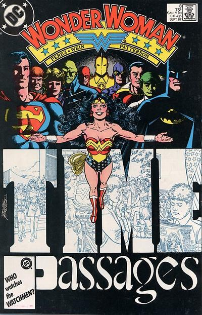 Cover for Wonder Woman (1987 series) #8