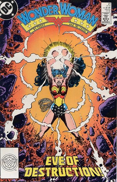 Cover for Wonder Woman (DC, 1987 series) #21