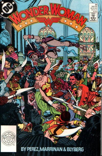 Cover for Wonder Woman (DC, 1987 series) #30