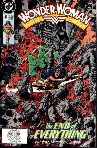 Cover for Wonder Woman (DC, 1987 series) #53