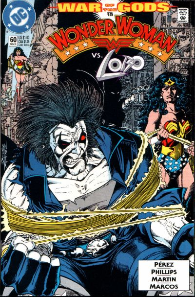 Cover for Wonder Woman (DC, 1987 series) #60