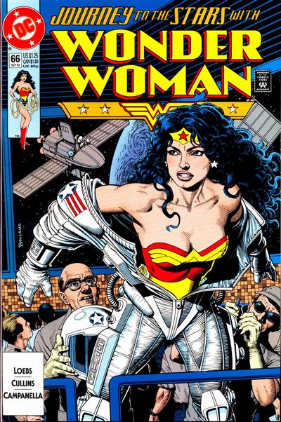 Cover for Wonder Woman (1987 series) #66