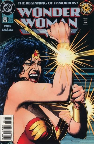Cover for Wonder Woman (DC, 1987 series) #0