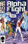 Cover Thumbnail for Alpha Flight (1983 series) #27 [Direct Edition]