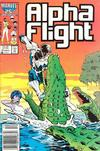 Cover Thumbnail for Alpha Flight (1983 series) #41 [Newsstand Edition]