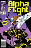 Cover Thumbnail for Alpha Flight (1983 series) #47 [Newsstand Edition]