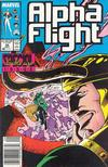 Cover for Alpha Flight (Marvel, 1983 series) #50 [Newsstand Edition]