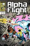 Cover for Alpha Flight (Marvel, 1983 series) #61