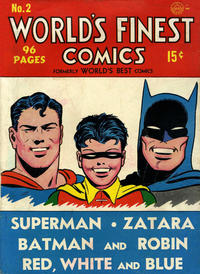 Cover Thumbnail for World&#39;s Finest Comics (DC, 1941 series) #2