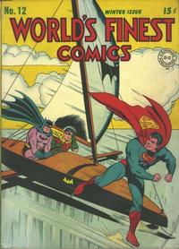 Cover Thumbnail for World's Finest Comics (DC, 1941 series) #12