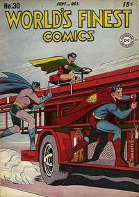 Cover Thumbnail for World&#39;s Finest Comics (DC, 1941 series) #30
