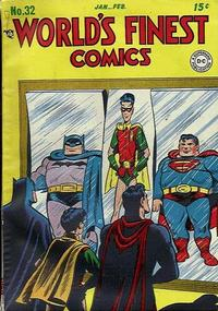 Cover Thumbnail for World's Finest Comics (DC, 1941 series) #32
