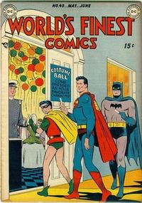 Cover Thumbnail for World's Finest Comics (DC, 1941 series) #40