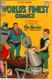 Cover Thumbnail for World's Finest Comics (DC, 1941 series) #49