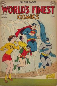 Cover Thumbnail for World's Finest Comics (DC, 1941 series) #55