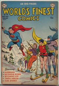 Cover Thumbnail for World's Finest Comics (DC, 1941 series) #57