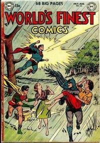Cover Thumbnail for World's Finest Comics (DC, 1941 series) #65