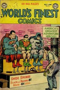 Cover Thumbnail for World's Finest Comics (DC, 1941 series) #70