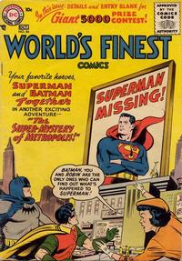 Cover Thumbnail for World's Finest Comics (DC, 1941 series) #84