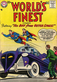 Cover Thumbnail for World's Finest Comics (DC, 1941 series) #92