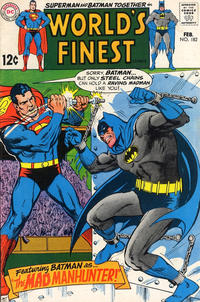 Cover Thumbnail for World's Finest Comics (DC, 1941 series) #182