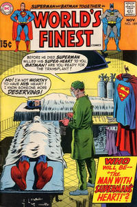 Cover Thumbnail for World's Finest Comics (DC, 1941 series) #189