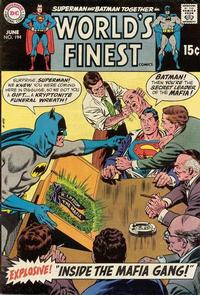 Cover Thumbnail for World's Finest Comics (DC, 1941 series) #194