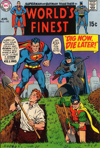 Cover for World's Finest Comics (DC, 1941 series) #195