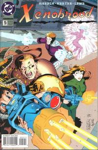 Cover Thumbnail for Xenobrood (DC, 1994 series) #5