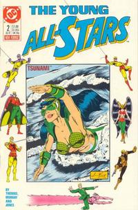Cover Thumbnail for Young All-Stars (DC, 1987 series) #2