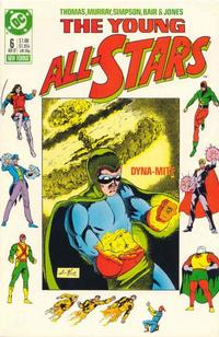 Cover Thumbnail for Young All-Stars (DC, 1987 series) #6