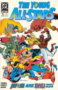 Cover Thumbnail for Young All-Stars (DC, 1987 series) #25