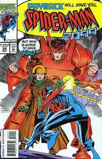 Cover Thumbnail for Spider-Man 2099 (Marvel, 1992 series) #24