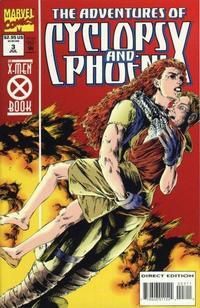 Cover Thumbnail for The Adventures of Cyclops and Phoenix (Marvel, 1994 series) #3 [Direct Edition]