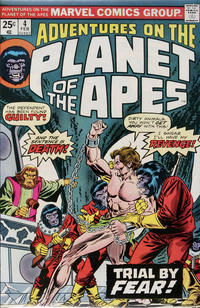 Cover for Adventures on the Planet of the Apes (Marvel, 1975 series) #4