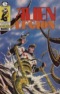 Cover Thumbnail for Alien Legion (Marvel, 1984 series) #4