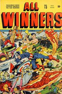 Cover Thumbnail for All-Winners Comics (Marvel, 1941 series) #13