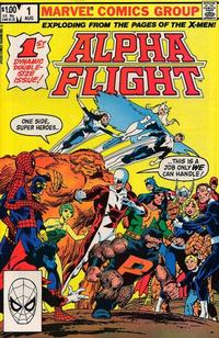 Cover Thumbnail for Alpha Flight (Marvel, 1983 series) #1 [Direct]