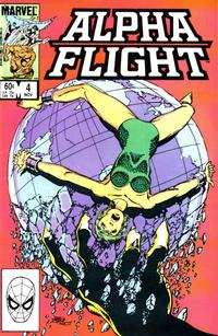 Cover Thumbnail for Alpha Flight (Marvel, 1983 series) #4 [Direct]