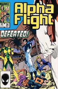 Cover Thumbnail for Alpha Flight (Marvel, 1983 series) #26 [Direct Edition]