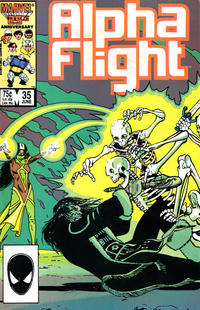 Cover Thumbnail for Alpha Flight (Marvel, 1983 series) #35
