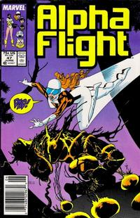 Cover Thumbnail for Alpha Flight (Marvel, 1983 series) #47 [Newsstand Edition]