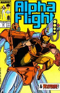 Cover for Alpha Flight (Marvel, 1983 series) #53